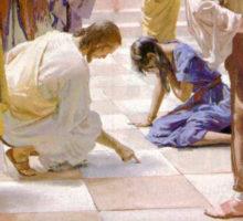 Jesus y la mujer adultera